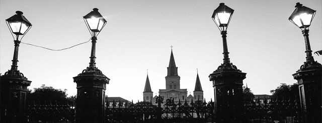 Saint Louis Cathedral, New Orleans, LA.